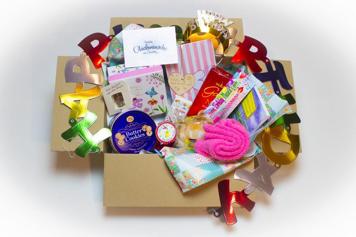 Die besondere Geburtstagsbox für eine Dame