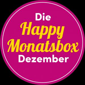 Happy Monatsbox - Die Geschenkidee im Dezember 1