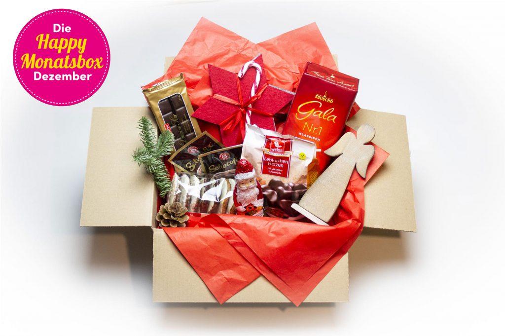 Geschenkidee - Happy Monatsbox Dezember