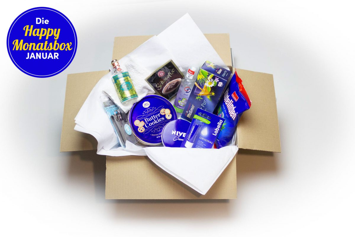 Die Happy Monatsbox im Januar