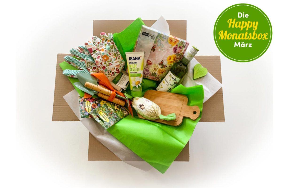 Die Happy Monatsbox im März