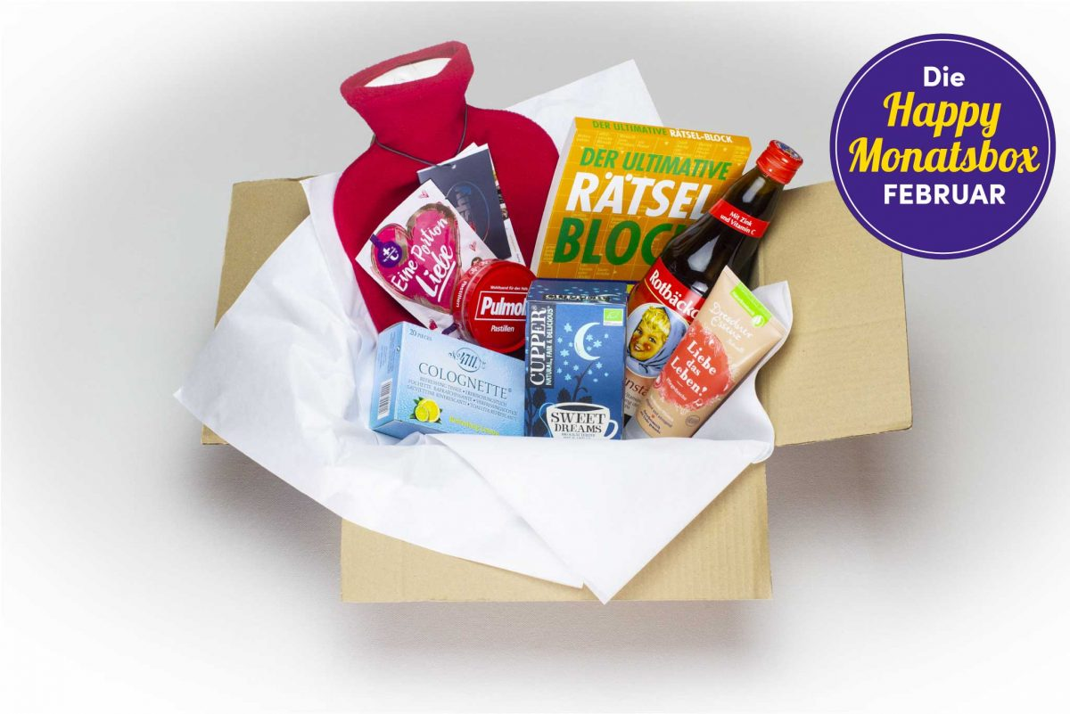 Die Happy Monatsbox im Februar