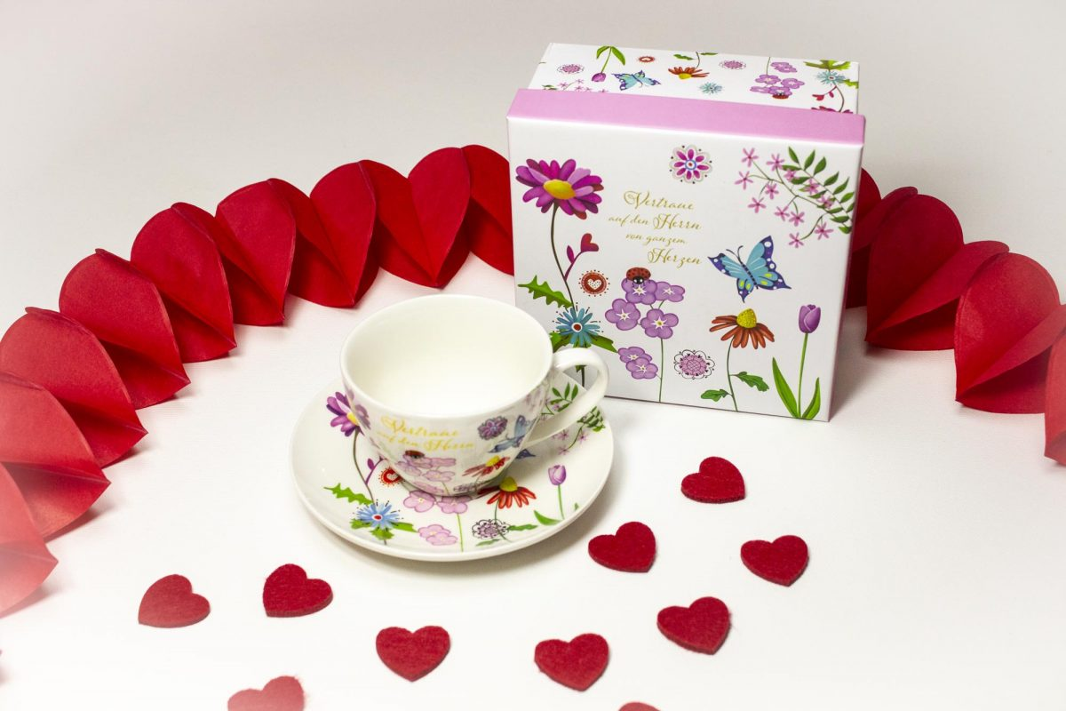 Happy Valentine Box für Damen (Detail)
