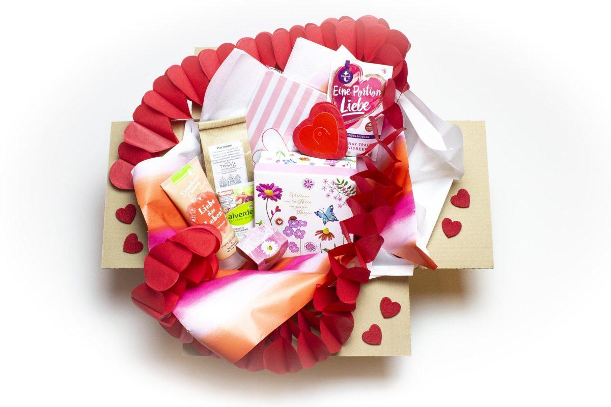 Happy Valentine Box für Damen