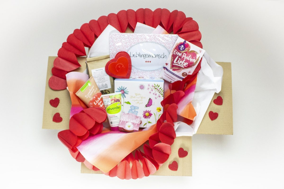 Happy Valentine Box für Herren