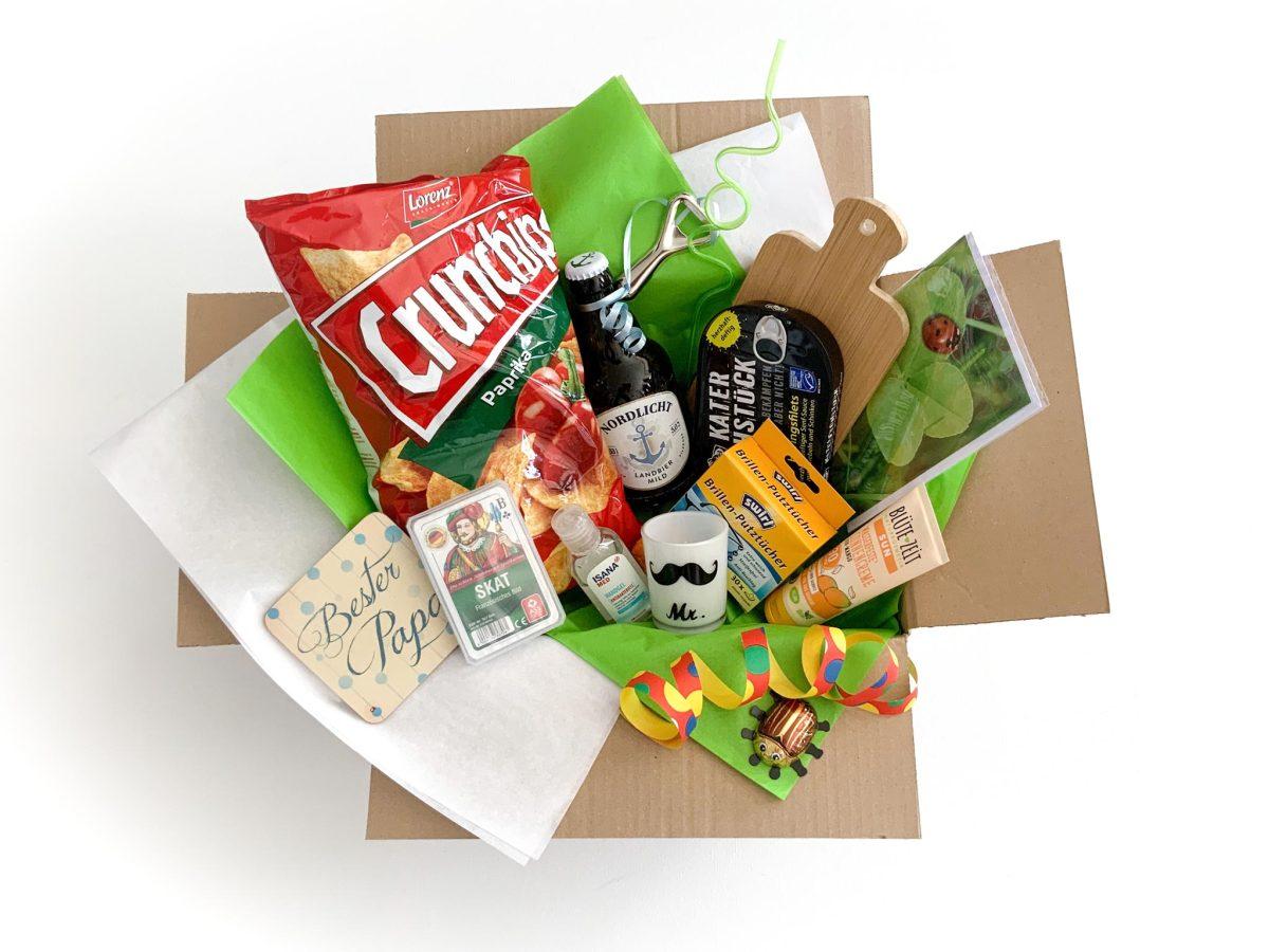 Das Vatertagsgeschenk - Die Happy Vatertagsbox