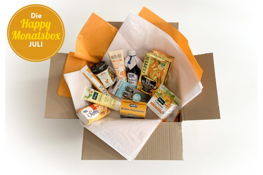 Die Happy Julibox