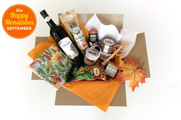 Die Happy Monatsbox September