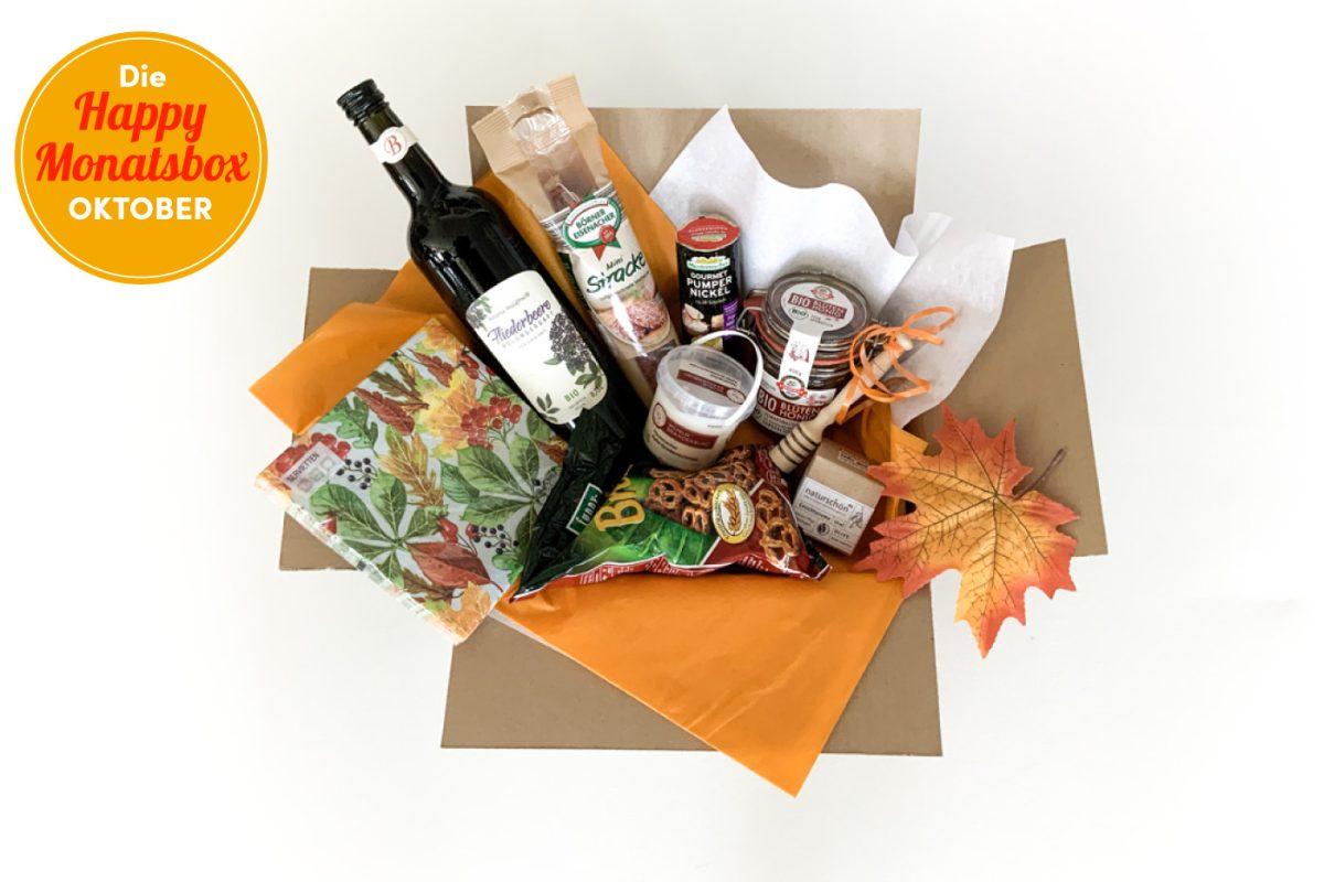 Die Happy Monatsbox Oktober