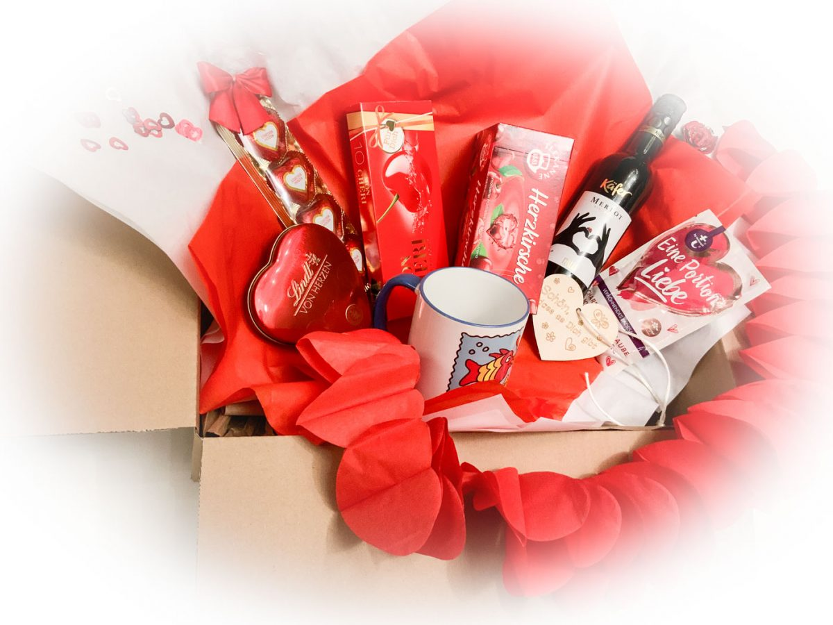 Happy Valentinstag 2021 - Box für Damen 3